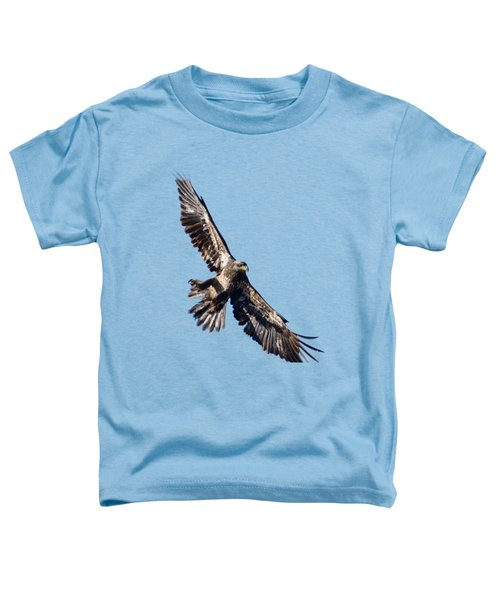 Toddler T-Shirt featuring the photograph Eagle by Greg Norrell