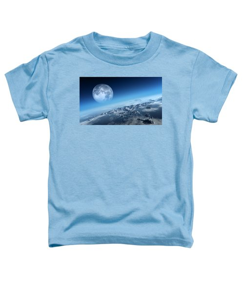 Earth Icy Ocean Aerial View Toddler T-Shirt