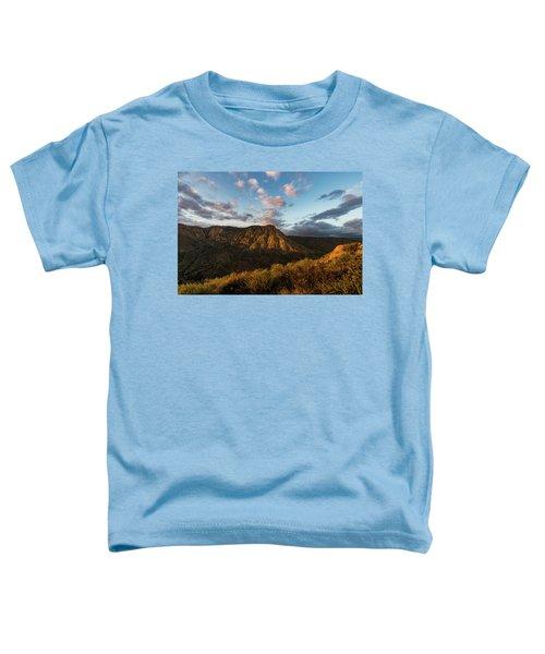 El Cajon Mountain Last Light Toddler T-Shirt