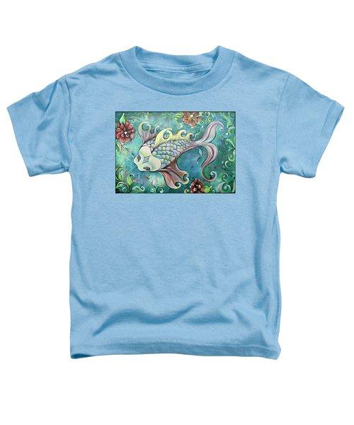 Emerald Koi Toddler T-Shirt