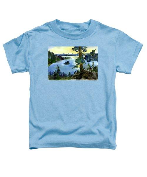 Emerald Morn, Lake Tahoe Toddler T-Shirt