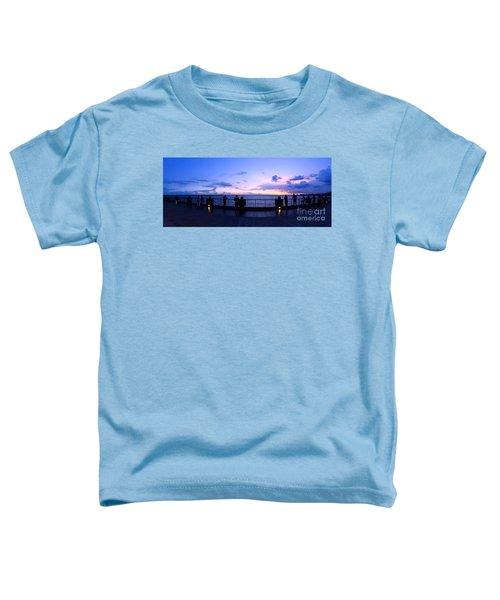 Enjoying The Beautiful Evening Sky Toddler T-Shirt