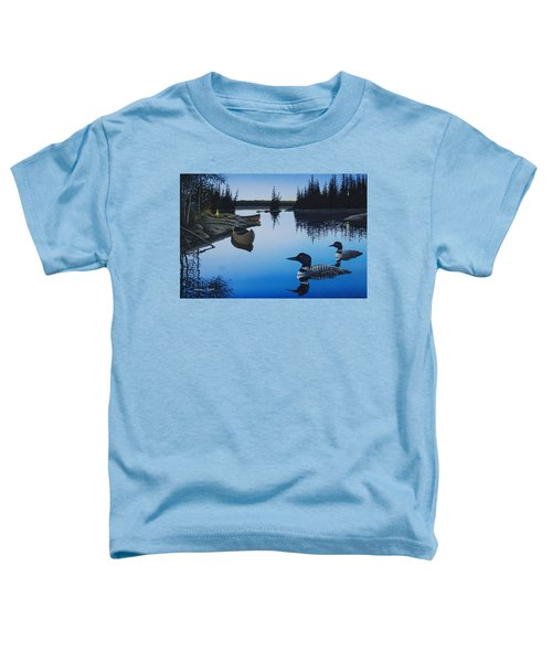 Evening Loons Toddler T-Shirt
