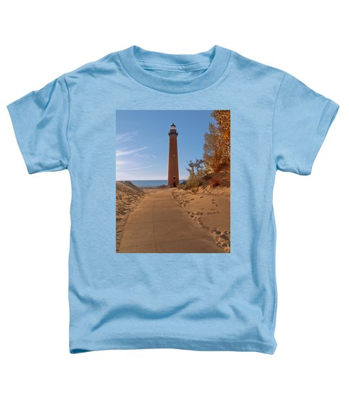 Fall At Little Point Sable Light Toddler T-Shirt