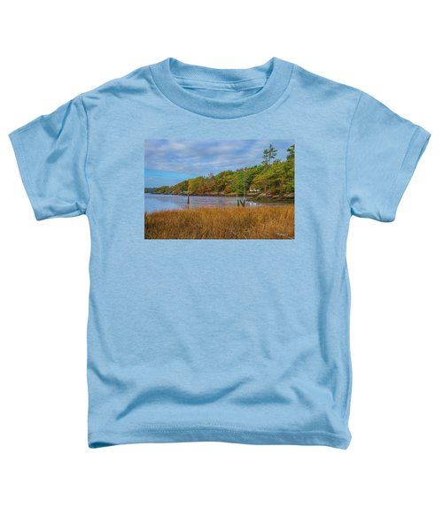 Fall Colors In Edgecomb Too Toddler T-Shirt