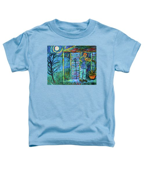 Fiddling At Midnight's Farm House Toddler T-Shirt