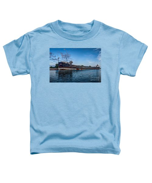 Final Mooring For The Algoma Transfer Toddler T-Shirt