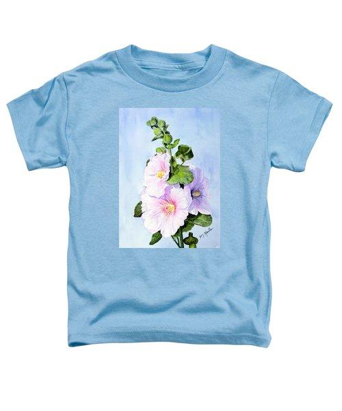 Finally Hollyhocks Toddler T-Shirt