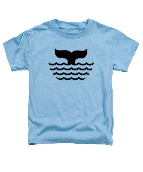 Fishtail In Black Toddler T-Shirt