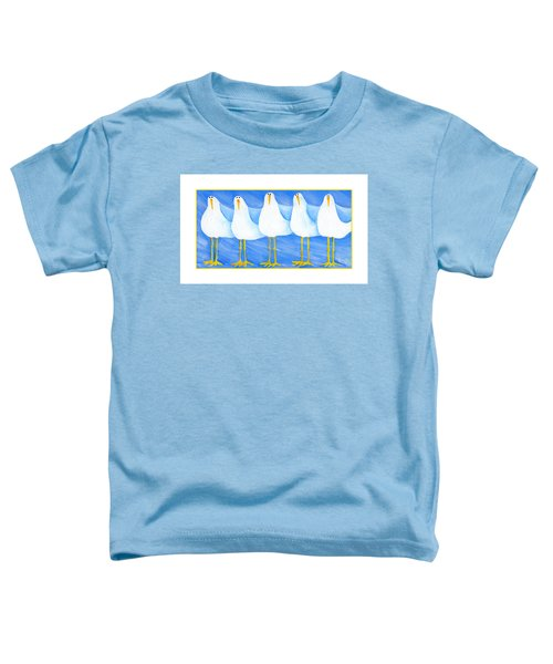 Five Seagulls Toddler T-Shirt