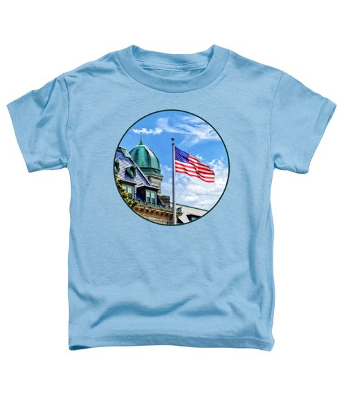 Flag Flying Over Tecumseh Court Toddler T-Shirt