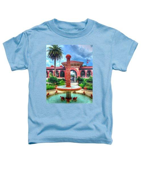 Flagler College Fountain Toddler T-Shirt