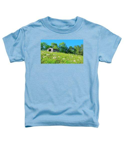 Flowering Hillside Meadow - View 2 Toddler T-Shirt