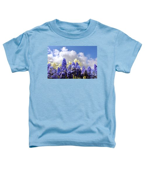 Flowers And Sky Toddler T-Shirt
