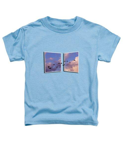 Flying Across Toddler T-Shirt