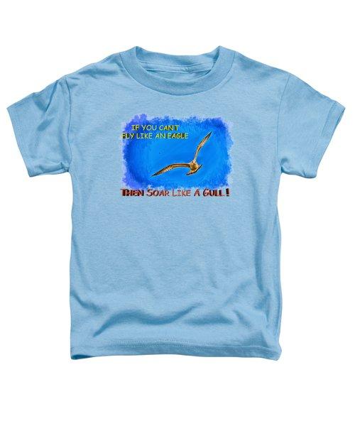 Flying Gull Toddler T-Shirt
