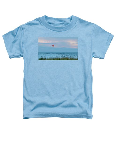 Flying High Over The Pacific Toddler T-Shirt