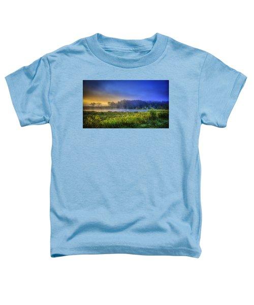 Fogy Sunrise  Toddler T-Shirt