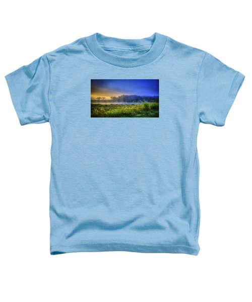 Fogy Sunrise  Toddler T-Shirt