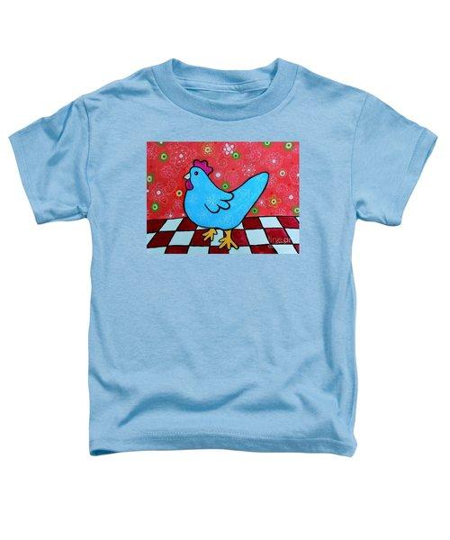Folk Art Rooster Toddler T-Shirt