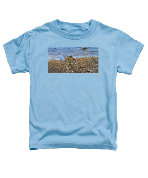 Toddler T-Shirt featuring the photograph Forgotten Line II by Stephen Mitchell