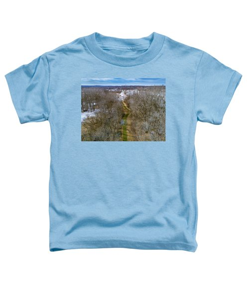 From Woods To Snow Toddler T-Shirt