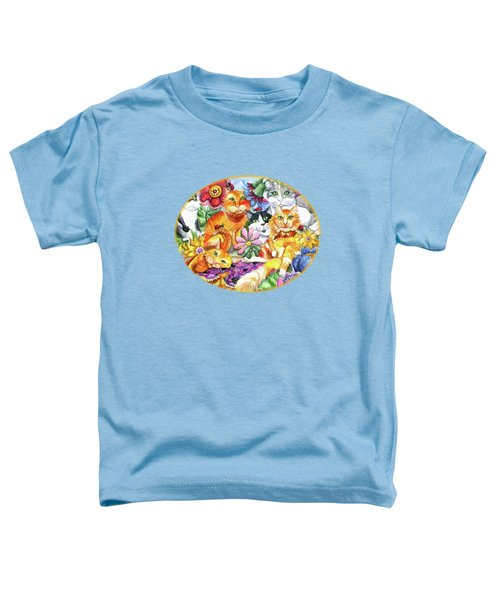 Garden Party Toddler T-Shirt by Shelley Wallace Ylst