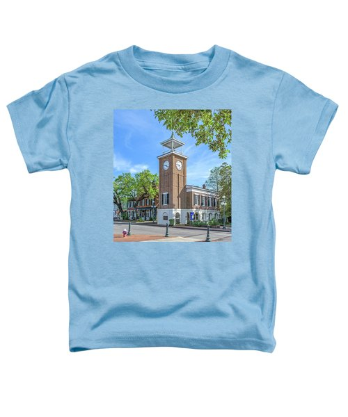 Georgetown Clock Tower Toddler T-Shirt