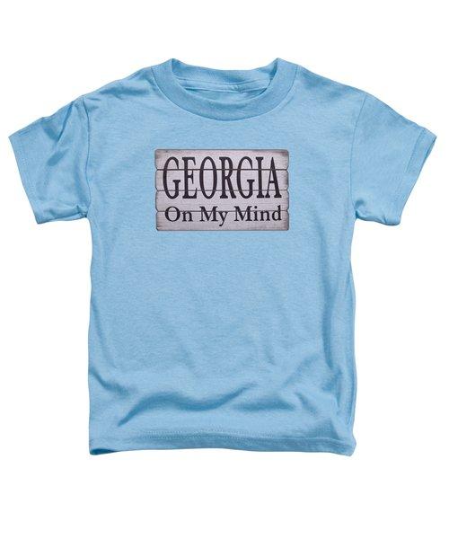 Georgia On My Mind Toddler T-Shirt
