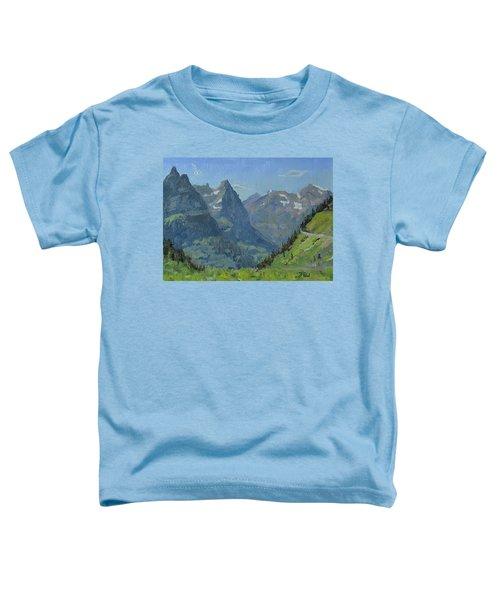 Glacier Afternoon Toddler T-Shirt
