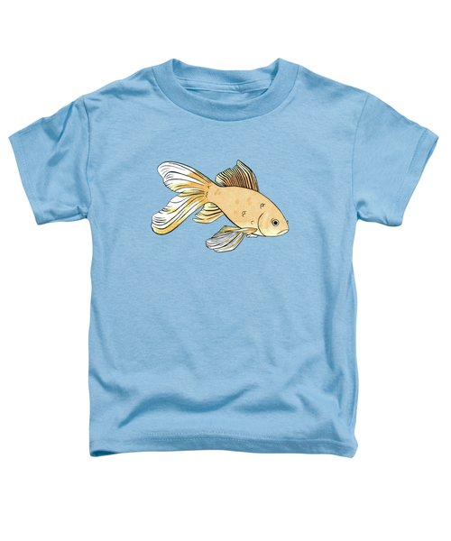 Glum Goldfish Toddler T-Shirt