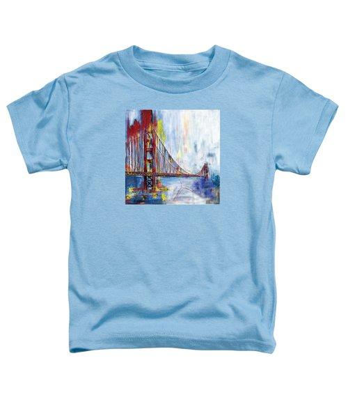 Golden Gate Bridge 218 1  Toddler T-Shirt by Mawra Tahreem