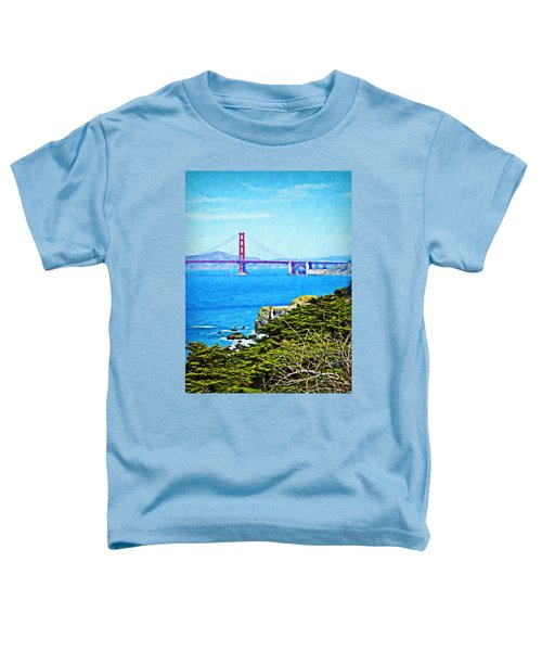Golden Gate Bridge From The Coastal Trail Toddler T-Shirt