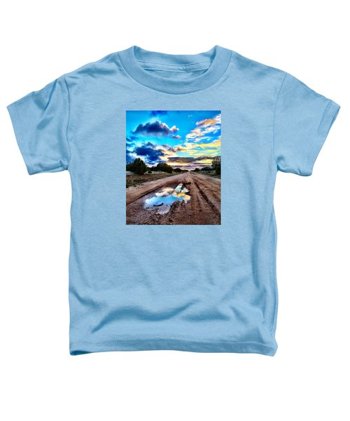 Golden Hour Pool Toddler T-Shirt