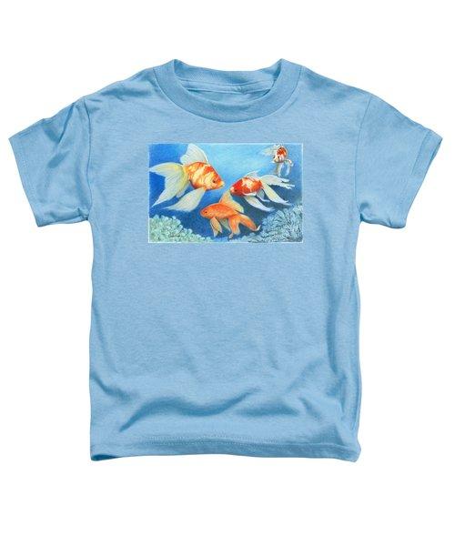 Goldfish Tank Toddler T-Shirt