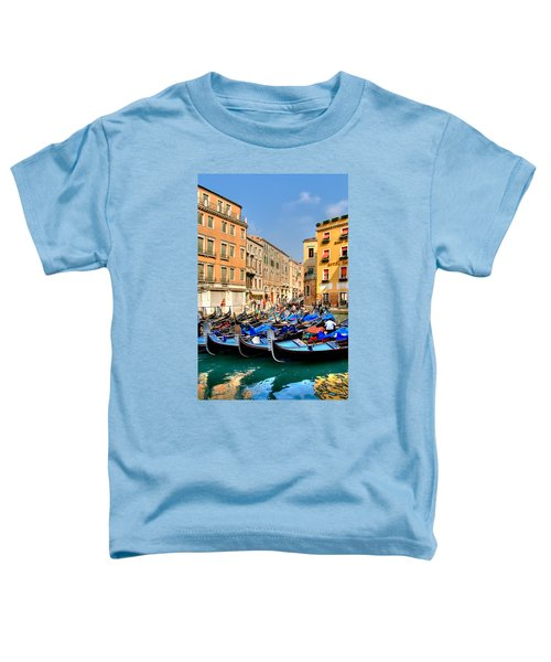 Gondolas In The Square Toddler T-Shirt