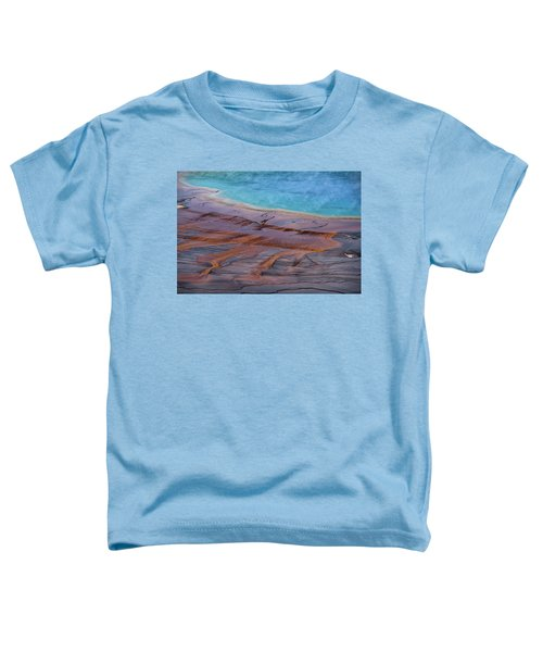 Grand Prismatic Spring Detail Toddler T-Shirt