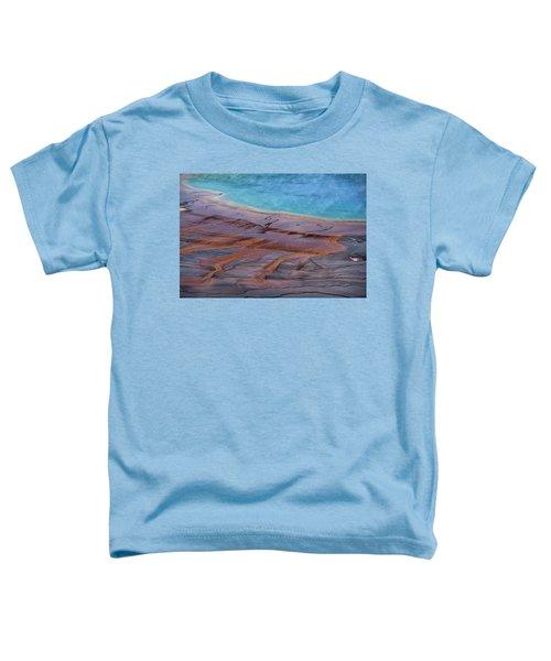 Grand Prismatic Spring Detail Toddler T-Shirt