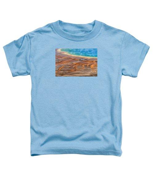Grand Prismatic Spring Toddler T-Shirt