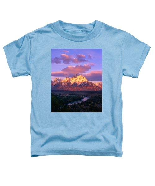 Grand Teton Sunrise Toddler T-Shirt