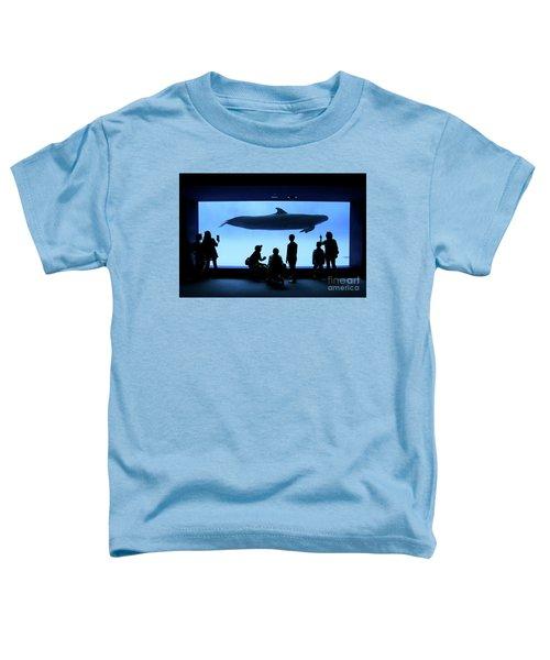 Grand Whale Toddler T-Shirt by Tatsuya Atarashi