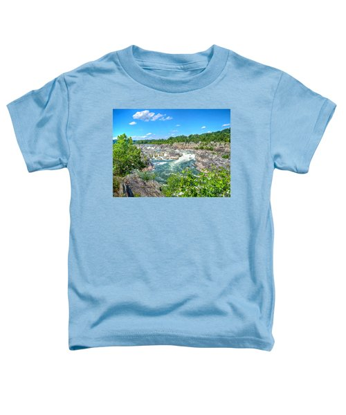 Great Falls On The Potomac Toddler T-Shirt