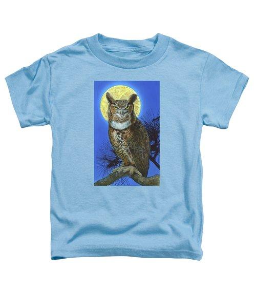 Great Horned Owl 2 Toddler T-Shirt