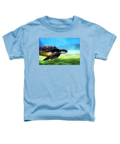 Green Sea Turtle 2 Toddler T-Shirt