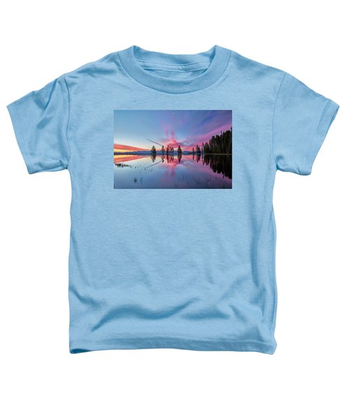 Gull Point At Sunrise Toddler T-Shirt