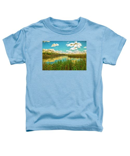 Gunnel Oval By Paint Toddler T-Shirt