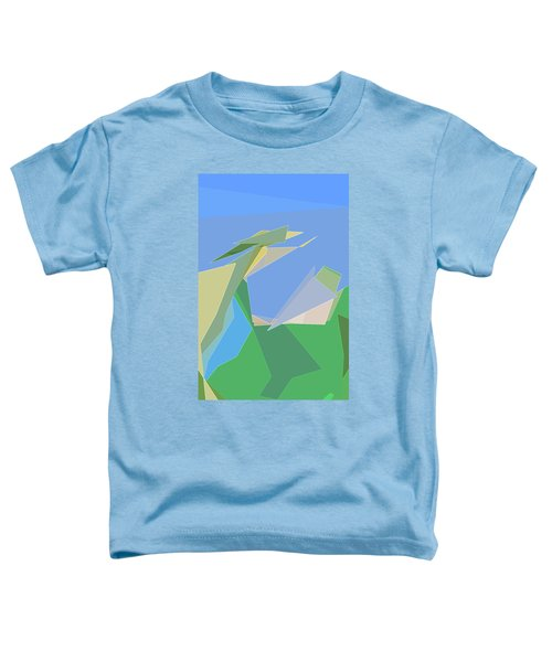 Hailing A Taxi Toddler T-Shirt