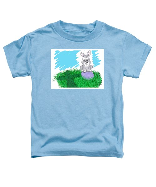 Toddler T-Shirt featuring the digital art Happy Easter by Antonio Romero