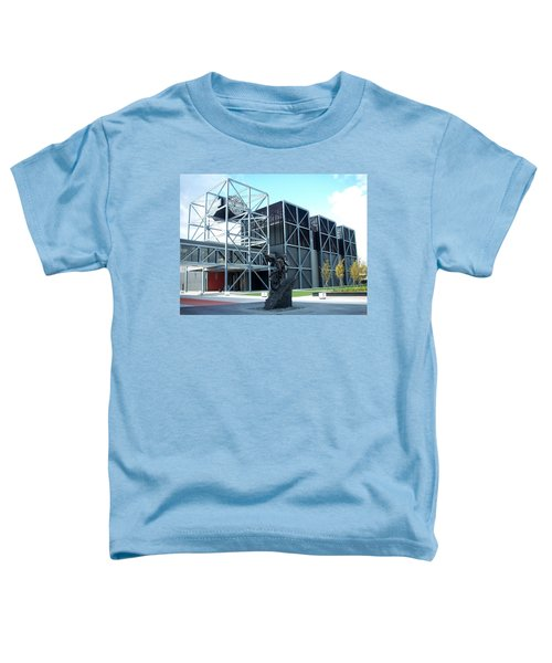 Harley Museum And Statue Toddler T-Shirt
