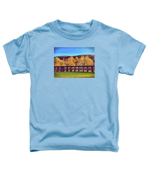 Harpers Ferry Train Tracks Toddler T-Shirt